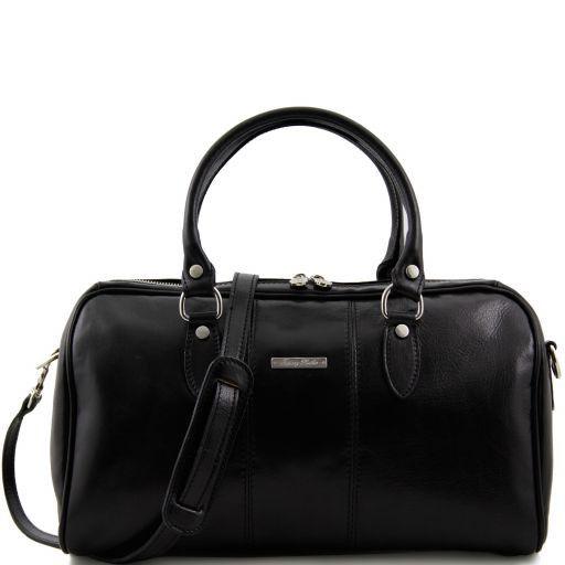 Monte Carlo Mini - Дорожная кожаная сумка Черный TL10150
