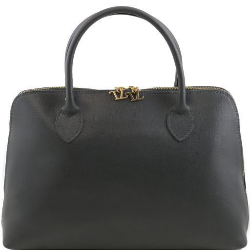 TL Bag Borsa business per donna in pelle Saffiano Canna di fucile TL141195