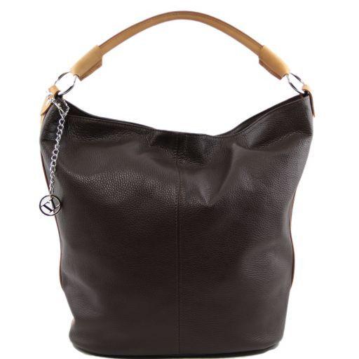 TL Bag Borsa secchiello da donna in pelle Testa di Moro TL141201