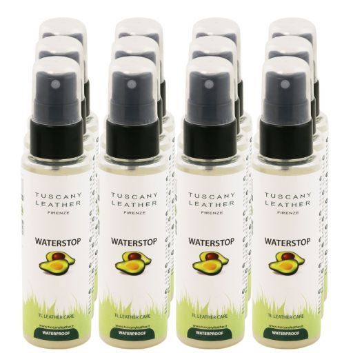 WATERSTOP Leather waterproofing spray x 12 Colourless TL141309