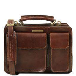 Tania Leather lady handbag Brown TL141270