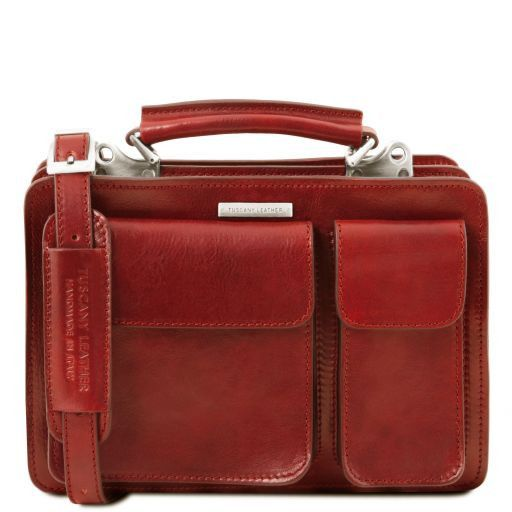 Tania Leather lady handbag Red TL141270