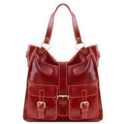 Melissa Lady leather bag Red TL140928