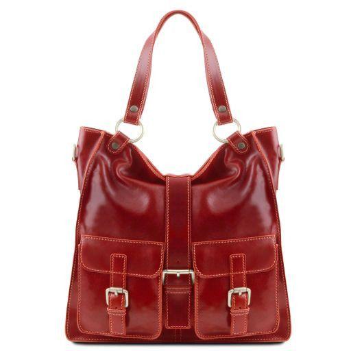 Melissa Sac pour femme en cuir Rouge TL140928