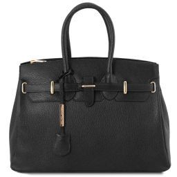 TL Bag Borsa a mano media con accessori oro Nero TL141529