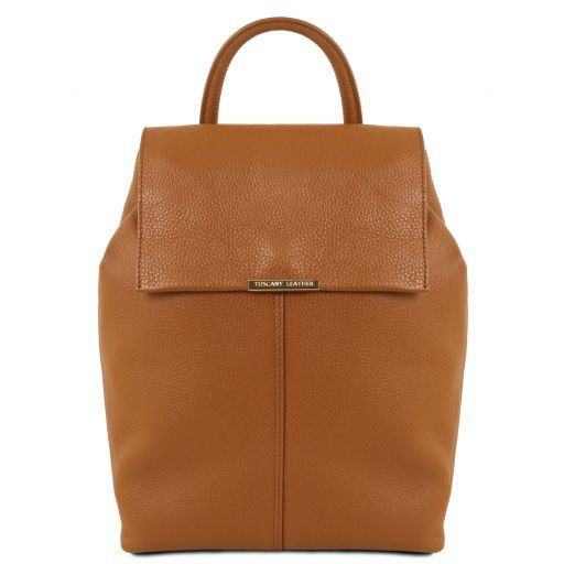 TL Bag Soft leather backpack for women Коньяк TL141706