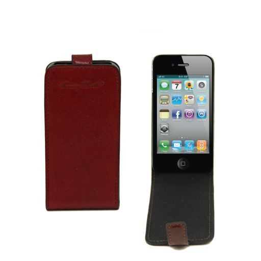 Leather iPhone4/4s holder Brown TL141212