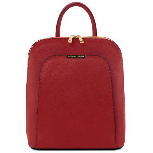 TL Bag Saffiano leather backpack for women Красный TL141631