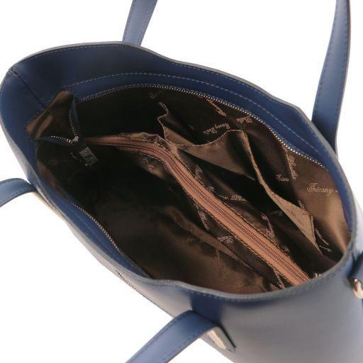 Olimpia Sac cabas en cuir Bleu foncé TL141412