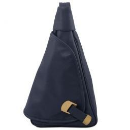 Hanoi Leather backpack Dark Blue TL140966
