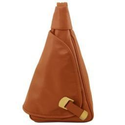 Hanoi Leather backpack Cognac TL140966