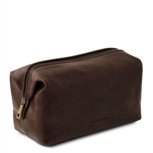 Smarty Beauty case in pelle - Misura grande Testa di Moro TL141219