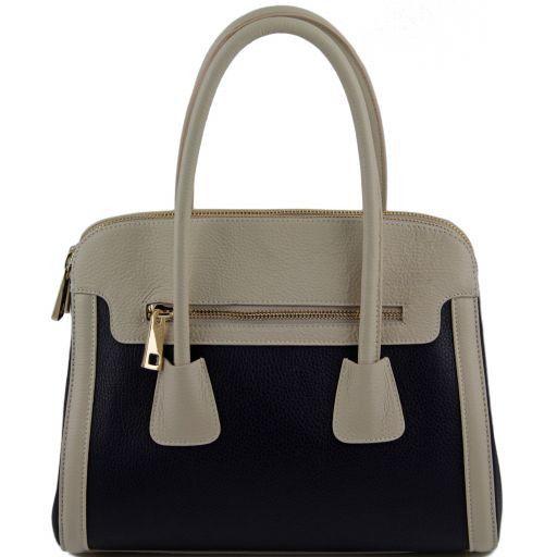 TL Bag Multicolor leather handbag Light Taupe TL141225