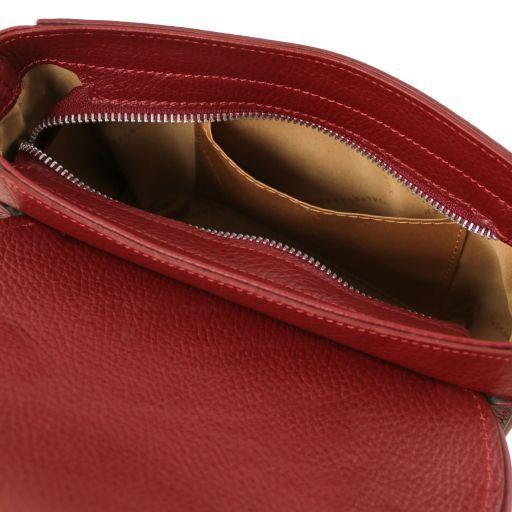 Primula Pochette in pelle Rosso TL141725