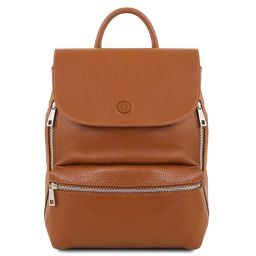 Margherita Leather backpack Cognac TL141729