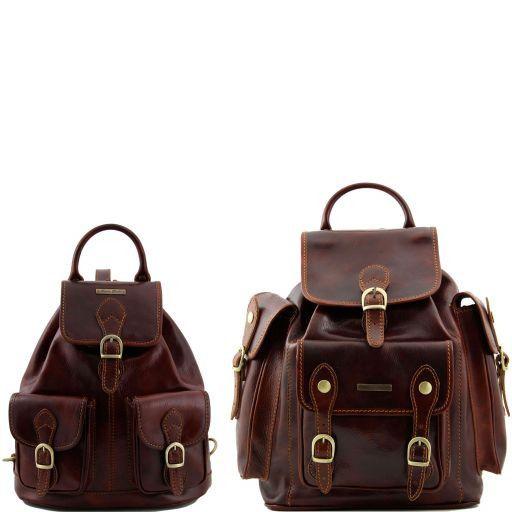 Trekker Дорожный набор кожаных рюкзаков Коричневый TL90173