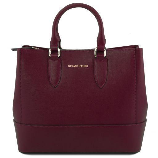 Tuscany Leather TL141638 TL Bag - Borsa a mano in pelle