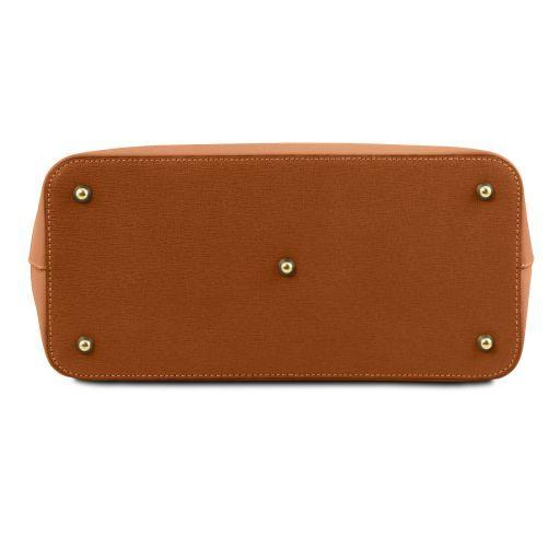 TL Bag Saffiano leather handbag Коньяк TL141638