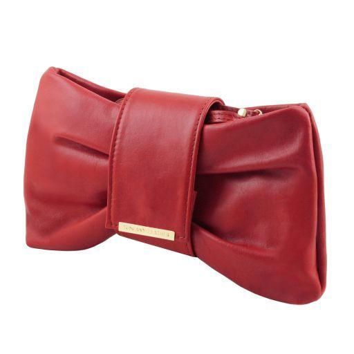 Priscilla Pochette in pelle Rosso TL141801