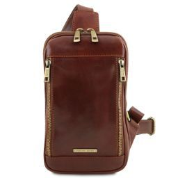 Martin Leather crossover bag Коричневый TL141536