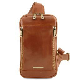 Martin Leather crossover bag Honey TL141536