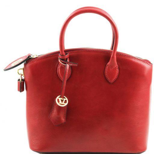 TL Bag Кожаная сумка-тоут - Малый размер Красный TL141264