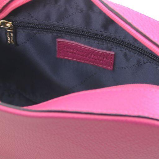TL Bag Borsa a tracolla in pelle Magenta TL141733