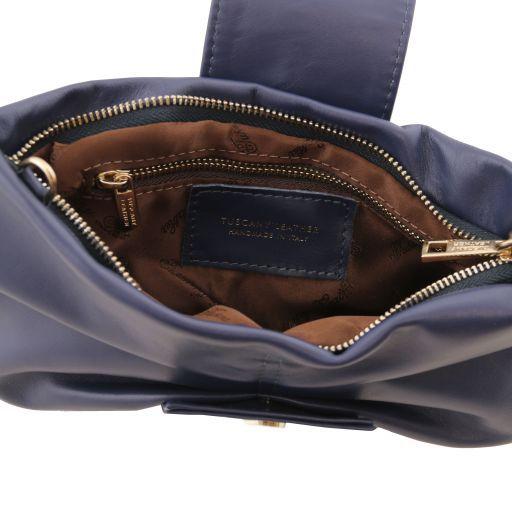 Priscilla Pochette in pelle Blu scuro TL141801