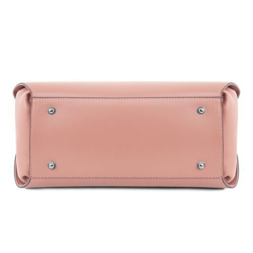 Flora Bolso noche en piel Ballet Pink TL141694