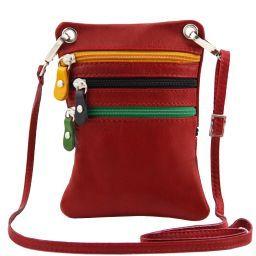 TL Bag Tracollina in pelle morbida Rosso TL141094
