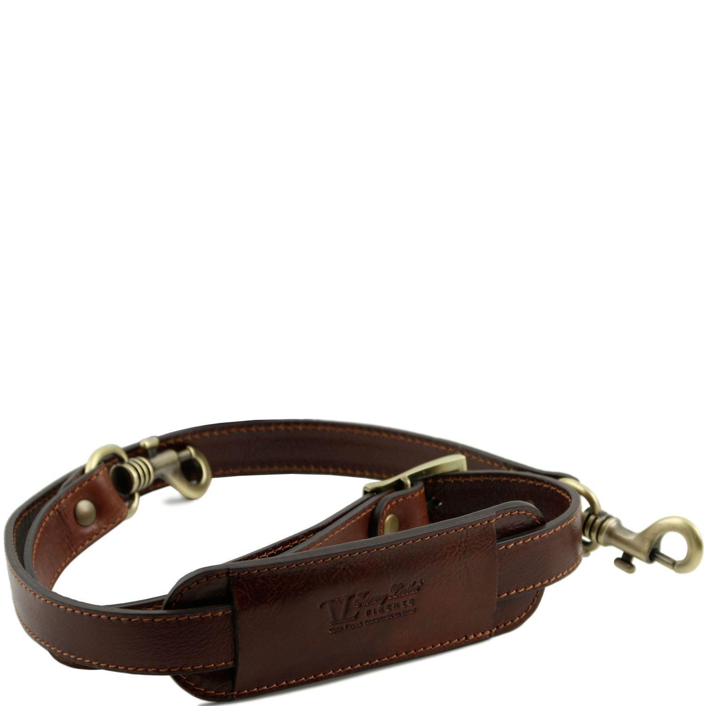Zdjęcie Adjustable leather shoulder strap Brown