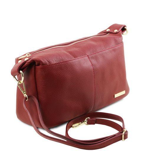 TL Bag Bauletto aus weichem Leder Rot TL141746