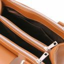 Fiordaliso Leather handbag Cognac TL141811