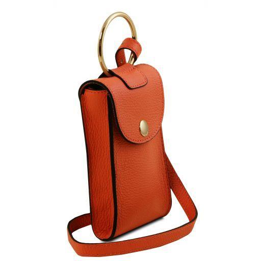 TL Bag Bolsillo Porta móvil en piel Brandy TL141865