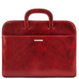 Sorrento Cartella portadocumenti in pelle Rosso TL141022