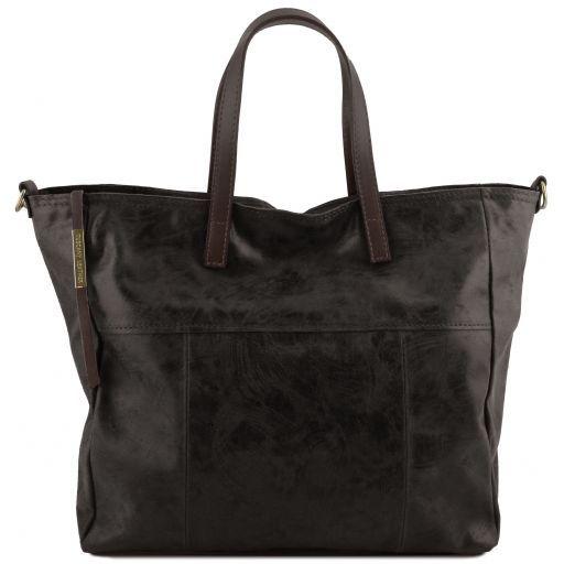 Annie Bolso shopping TL SMART en piel efecto antiguo Negro TL141552