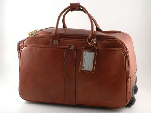 Barbados Exclusive trolley bag Коричневый FC140222
