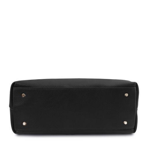 TL Bag Borsa a spalla in pelle morbida Nero TL141874
