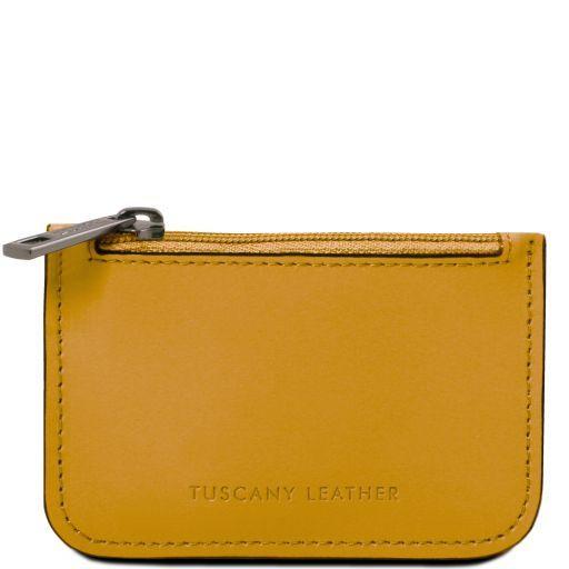 Schlüsselanhänger aus Leder Senf TL141671