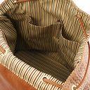 TL KeyLuck Rucksack aus geprägtem Leder Cinnamon TL141886