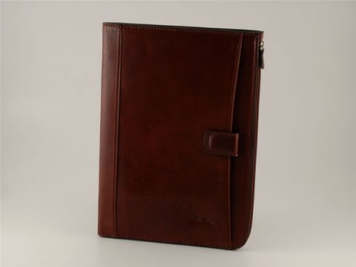 Riccardo Exclusive Leather Portfolio Темно-коричневый FC140234