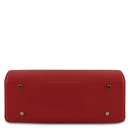 Narciso Leather duffle bag Red TL141875