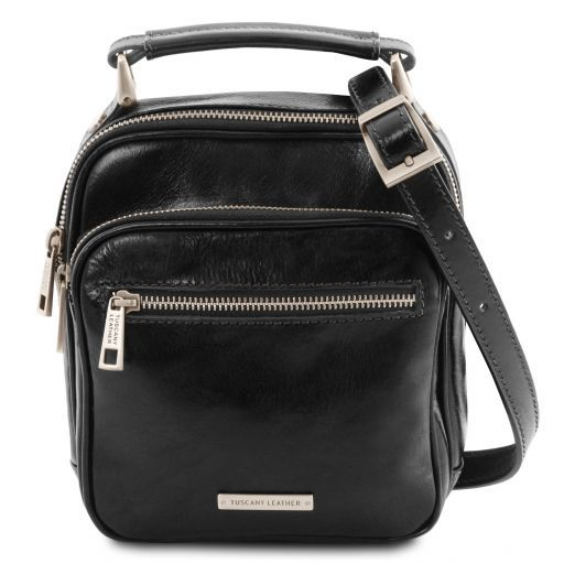 Paul Leather Crossbody Bag Черный TL141916