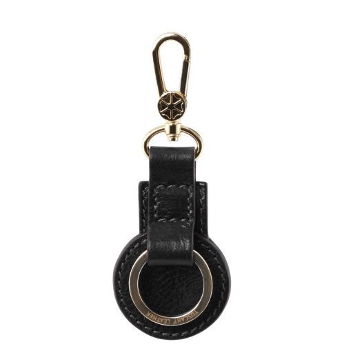 Leather key holder Black TL141922
