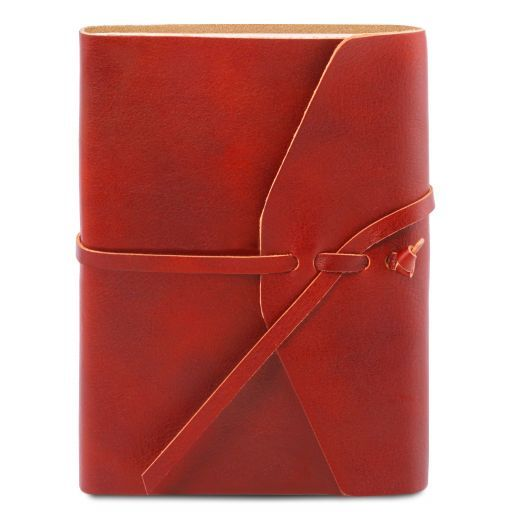 Leather travel diary Красный TL141925