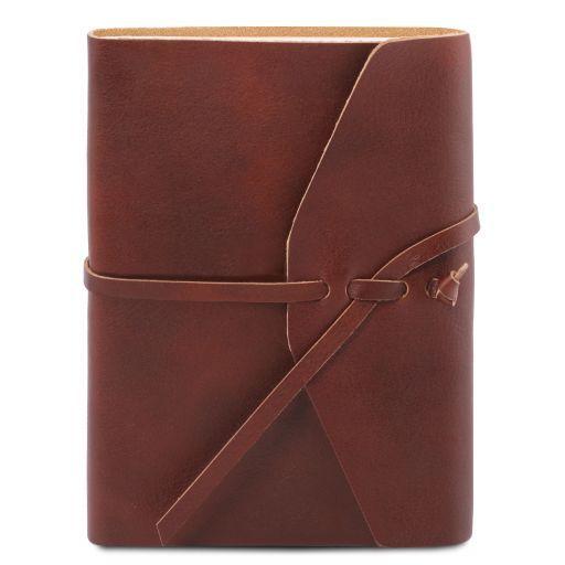 Leather travel diary Коричневый TL141925