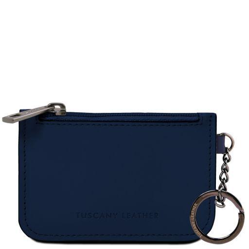 Schlüsselanhänger aus Leder Dunkelblau TL141671