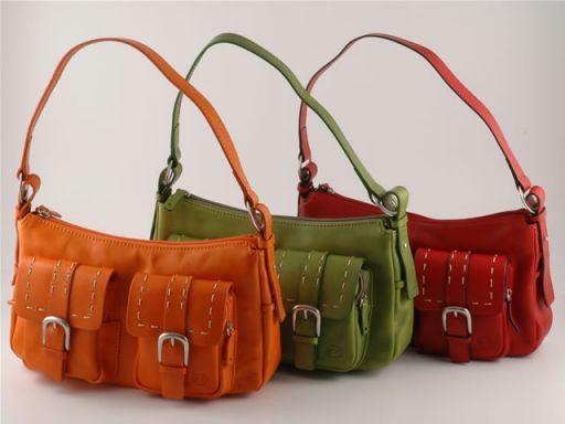 Deborah Esclusiva borsa donna in pelle Arancio TL140256