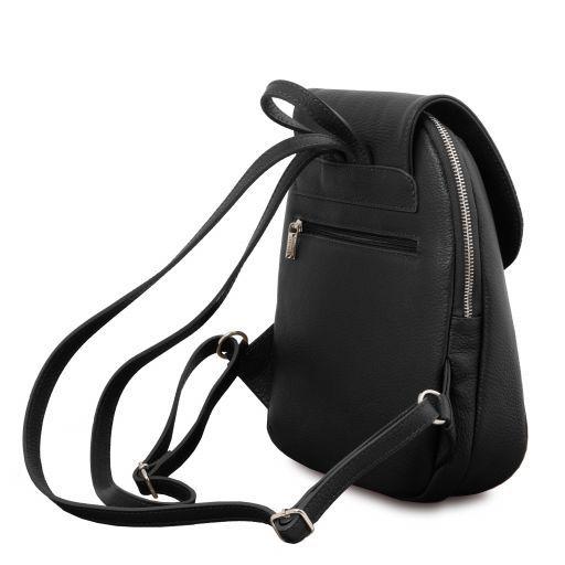TL Bag Soft leather backpack Черный TL141905