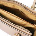 Aura Handtasche aus Leder Champagne TL141434